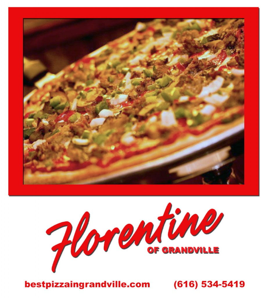 Best pizza in Grand Rapids - at Florentine Pizza in Grandville